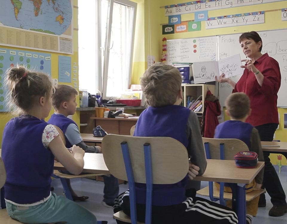 the original ITSW teaching model for school, pre-school and nursery in Warsaw